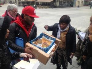 Vente de gâteaux à Saint-Denis