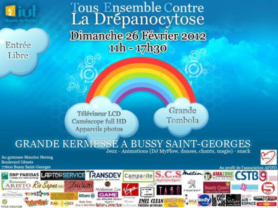 Kermesse Bussy Saint--Georges