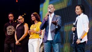 Princess Lover, Margarett Lahoussaye-Duvigny, Clémence Bringtown, Claudy Siar et Gaël Monfils