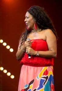 Lydia Lawrence durant le Drépaction 2013