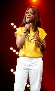 Margarett Lahoussaye-Duvigny durant le Drépaction 2013