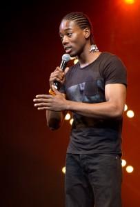 Jonathan Mahoto durant le Drépaction 2013