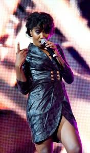 Fanny J durant le Drépaction 2013