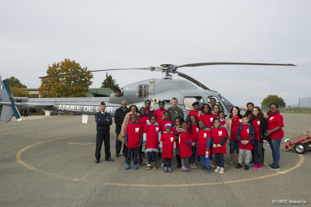 Visite de l'association pour l'information et la prévention de la Drépanocyte le mercredi 21 octobre sur la base aérienne 107