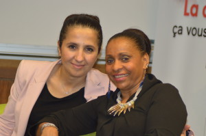 Farida Adlani et Jenny Hippocrate Fixy