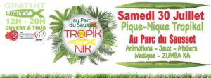 Compte rendu : Au Parc des Saussets pique nique tropical avec Unityx