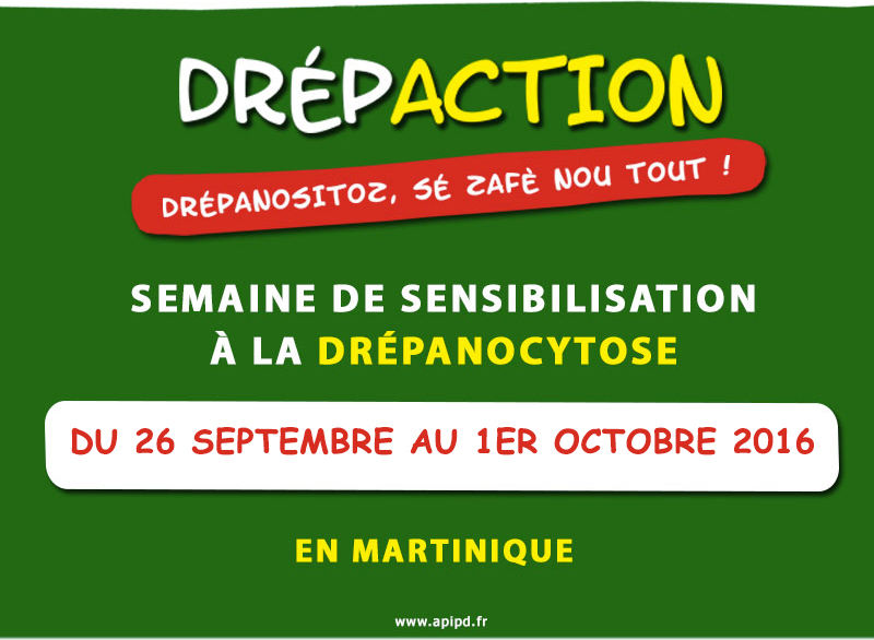 Drépaction du 26 septembre au 1er octobre 2016