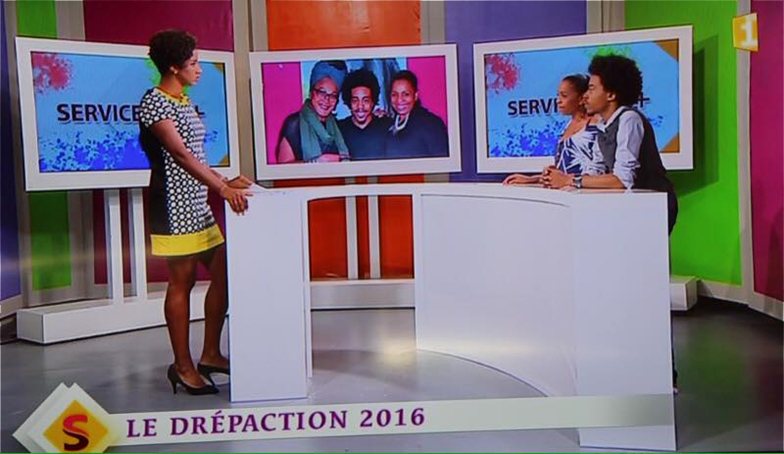 Drépaction Martinique à la télé