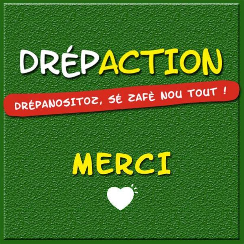 Le Drépaction vous remercie