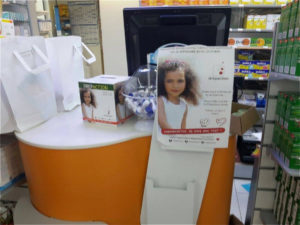 Drépaction en pharmacie