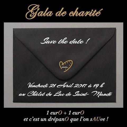 Inivitation au Gala de charité 2016