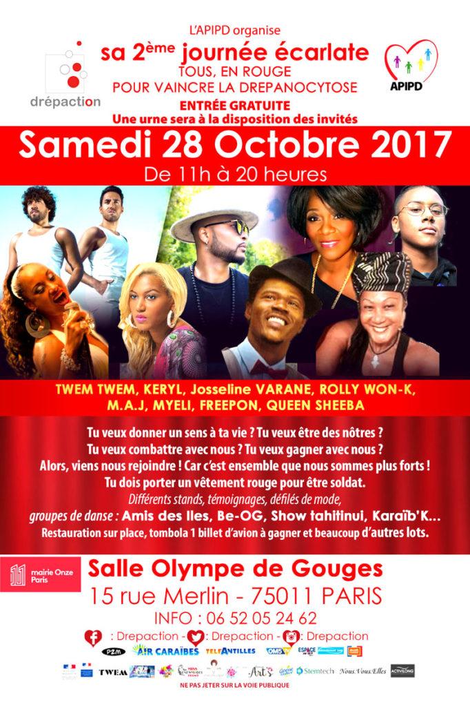 Journée Écarlate - Octobre 2017