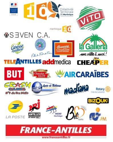 Partenaires du Drépaction Martinique 2017