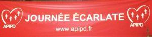 Journée écarlate de l'APIPD mai 2018