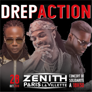 Concert du Drépaction 2018 au Zénith de Paris