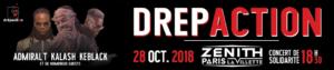 Concert du Drépaction 2018 au Zénith de Paris