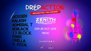 Drépaction 2018 au Zénith de Paris
