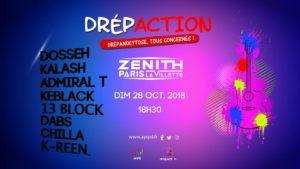 Drépaction 2018 au Zénith de Paris