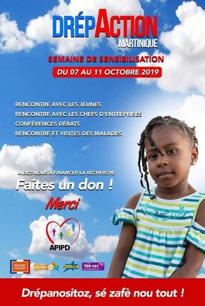 Drépaction Martinique 2019