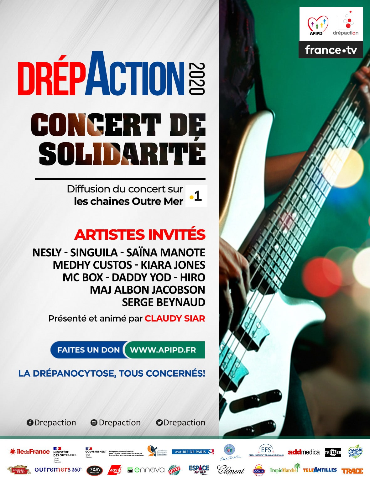 Flyer du Drépaction 2020